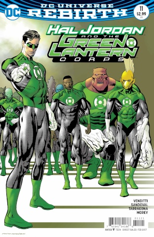 Hal Jordan and The Green Lantern Corps #11 (Variant Cover)