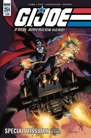 G.I. Joe: A Real American Hero #254 (Ferreira Cover)