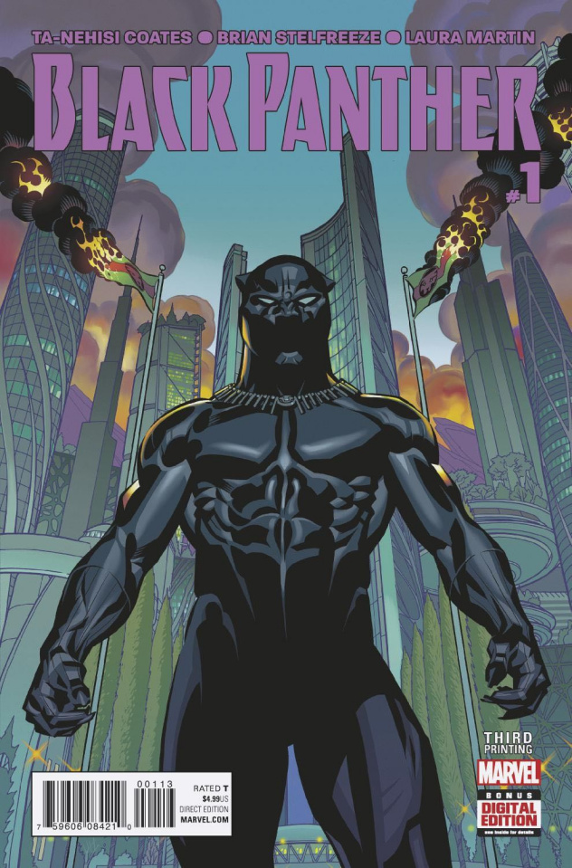 Black Panther #1 (Stelfreeze 3rd Printing)