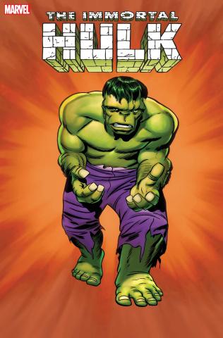 The Immortal Hulk #50 (Kirby Hidden Gem Cover)