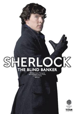 Sherlock: The Blind Banker #3 (Photo Cover)