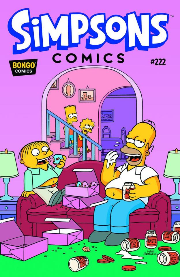 Simpsons Comics #222