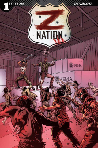 Z Nation #1 (5 Copy Menna Cover)