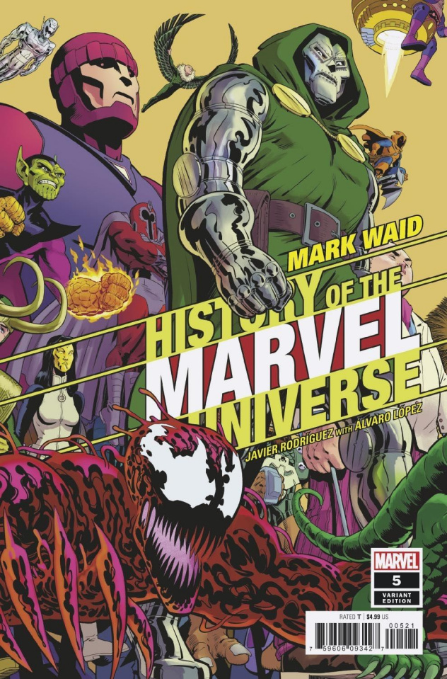 History of the Marvel Universe #5 (Rodriguez Cover)