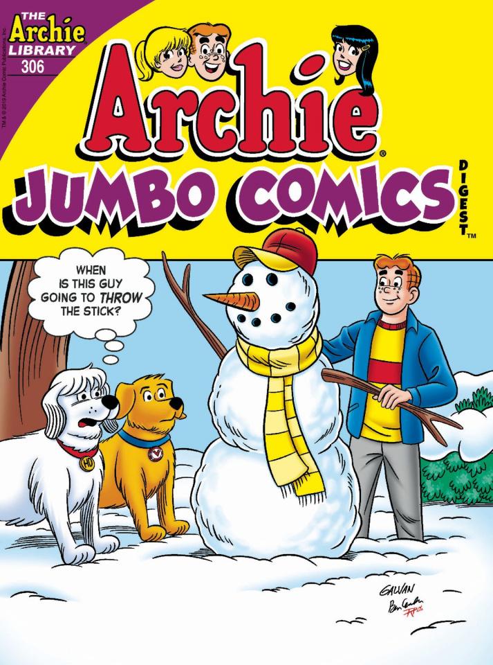Archie Jumbo Comics Digest #306