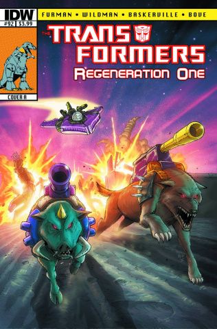 The Transformers: Regeneration One #92