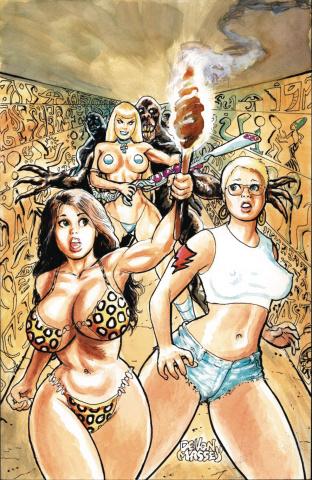 Cavewoman: Ankha's Revenge #1 (Massey Cover)