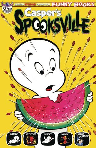 Casper's Spooksville #2 (Retro Animation Cover)