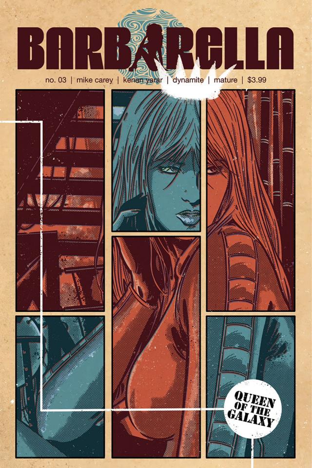 Barbarella #3 (Fornes Cover)