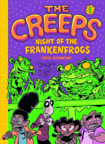 The Creeps Vol. 1: Night of the Frankenfrogs