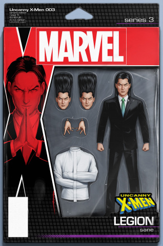 Uncanny X-Men #3 (Christopher Action Figure Cover)