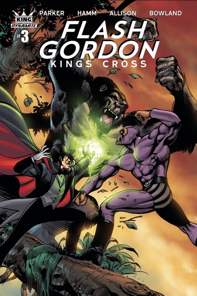 Flash Gordon: Kings Cross #3 (Subscription Cover)