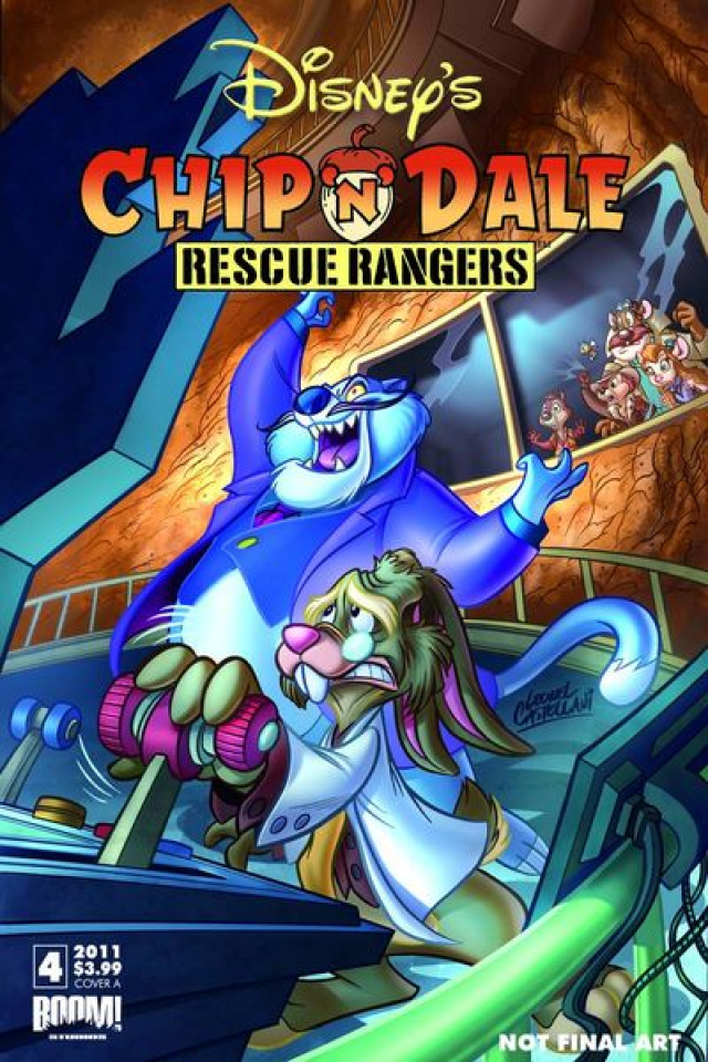 Chip 'N' Dale Rescue Rangers #4