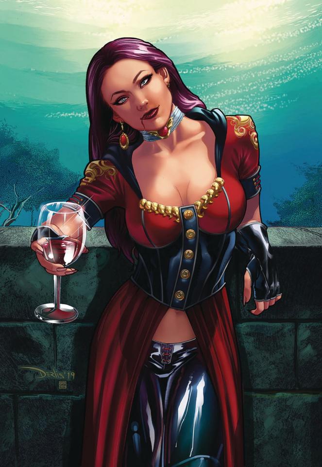 Van Helsing vs. Dracula's Daughter #3 (Santacruz Cover)