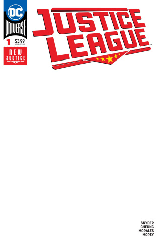 Justice League #1 (Blank Cover)