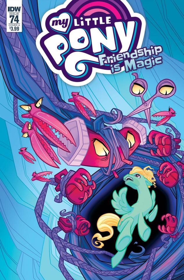 My Little Pony: Friendship Is Magic #74 (Sherron Cover)
