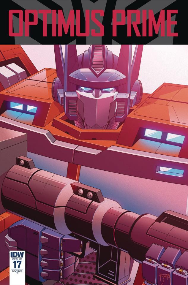 Optimus Prime #17 (10 Copy Cover)