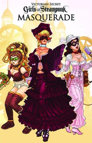 Victorian Secret: Girls of Steampunk Masquerade 2013