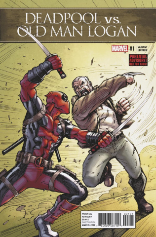 Deadpool vs. Old Man Logan #1 (Lim Cover)