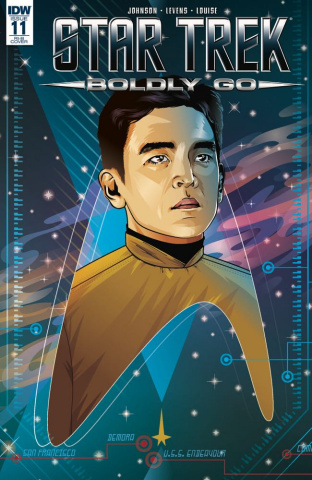 Star Trek: Boldly Go #11 (25 Copy Cover)