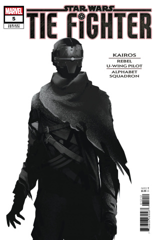 Star Wars: TIE Fighter #5 (Langevin Character Cover)