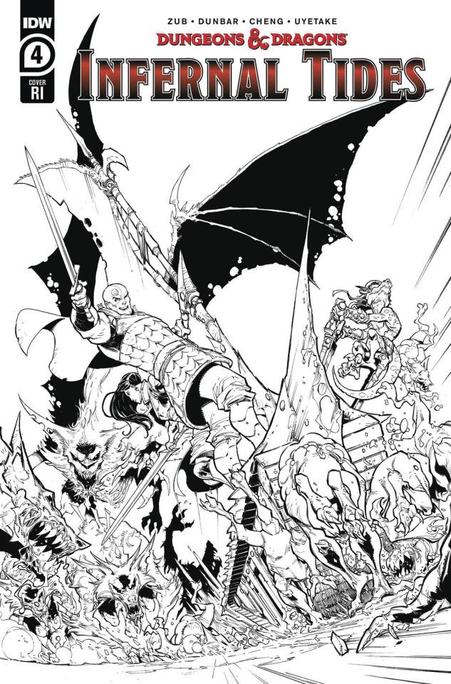 Dungeons & Dragons: Infernal Tides #4 (10 Copy Dunbar Cover)