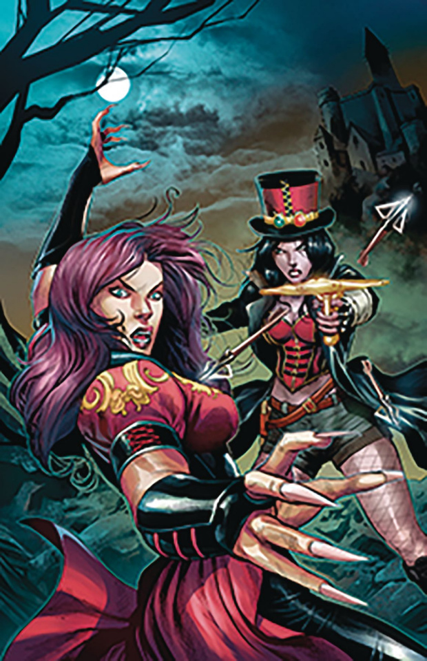 Van Helsing vs. Dracula's Daughter #5 (Coccolo Cover)