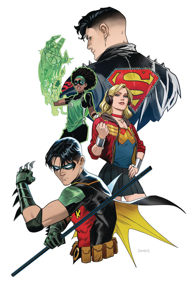 Young Justice #4 (Variant Cover)