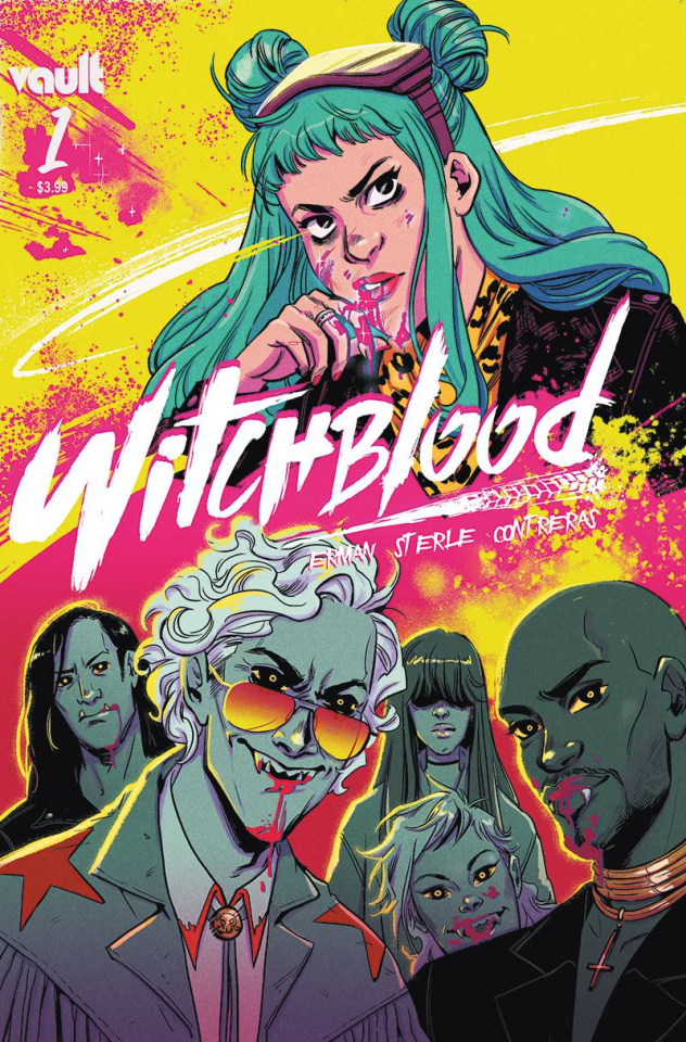 Witchblood #1 (Sterle Cover)
