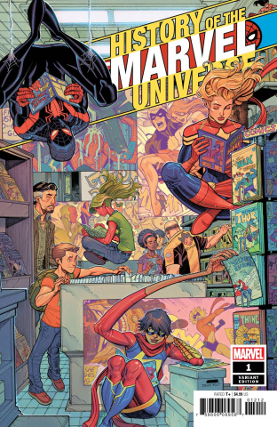 History of the Marvel Universe #1 (Bradshaw Cover)