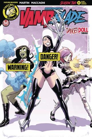 Vampblade, Season Two #6 (Winston Young Risque Cover)