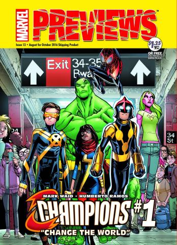 Marvel Previews #15: October 2016 Extras