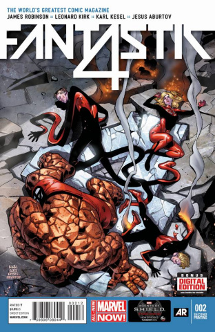 Fantastic Four #2 (2nd Printing)