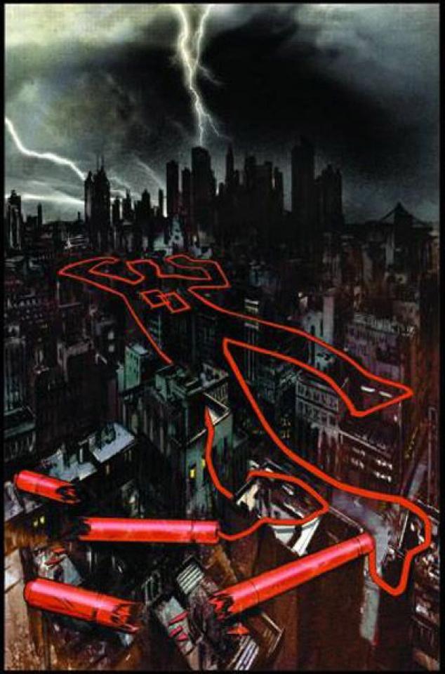 Daredevil: Reborn #1 (Romita Sr. Signed)