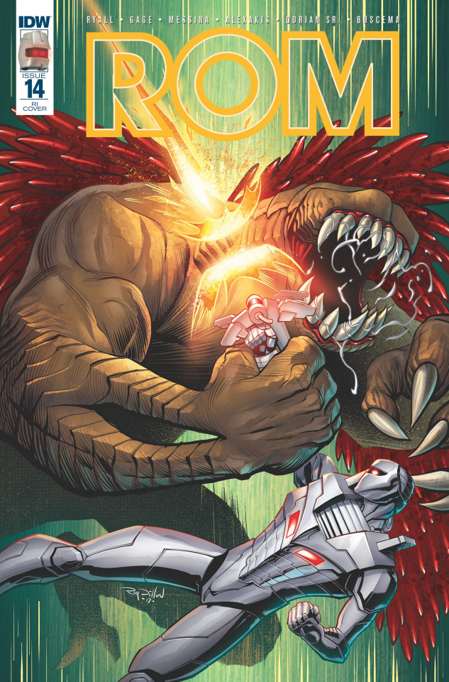 ROM #14 (10 Copy Cover)