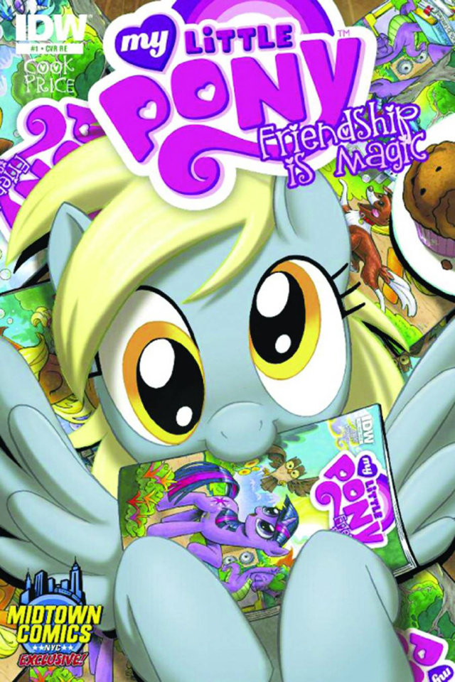 My Little Pony #1 (Midtown Comics Edition)
