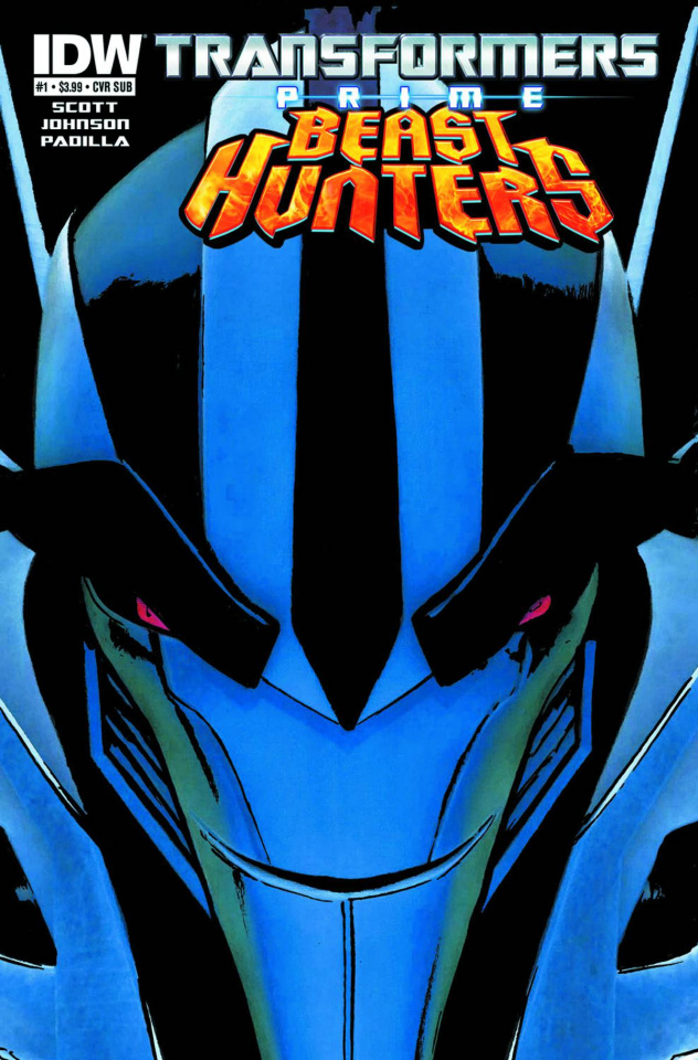 Transformers Prime: Beast Hunters #1 (Subscription Cover)