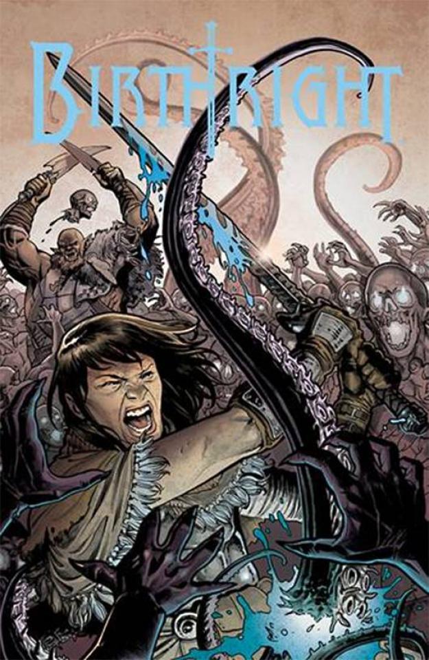 Birthright #12 (Dewey Cover)