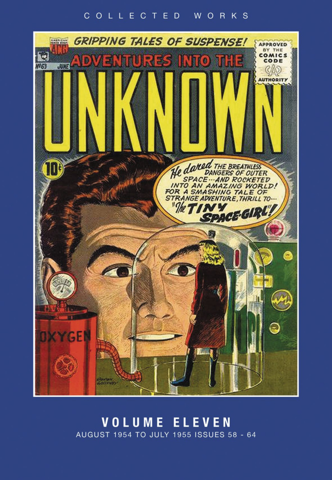 Adventures Into the Unknown! Vol. 11