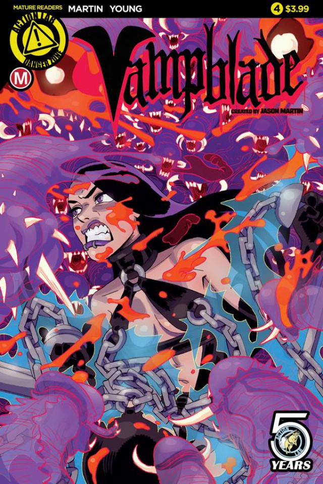 Vampblade #4 (Young Cover)