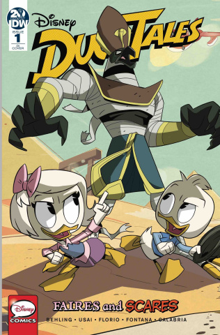 DuckTales: Faires and Scares #1 (10 Copy Ducktales Cover)