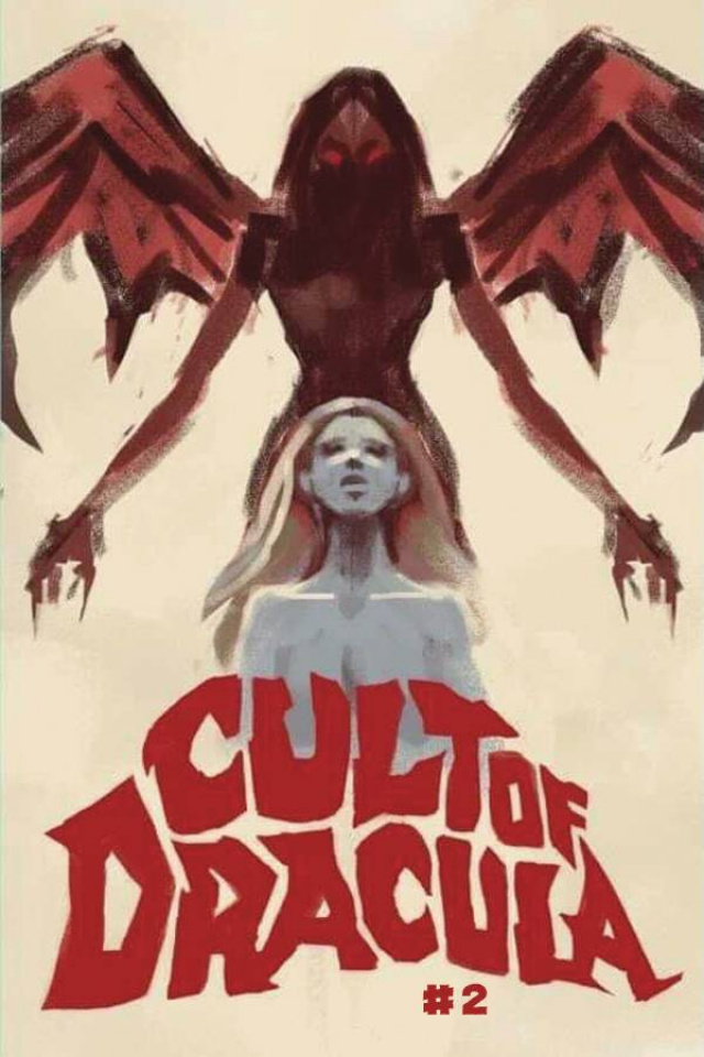 Cult of Dracula #2 (Nemeth Cover)