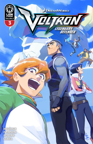 Voltron: Legendary Defender #3 (Yamashin Cover)