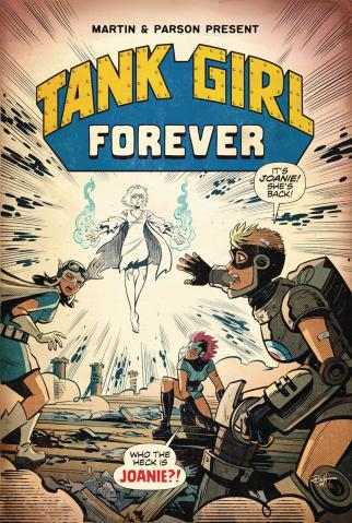 Tank Girl #6 (Parson Cover)