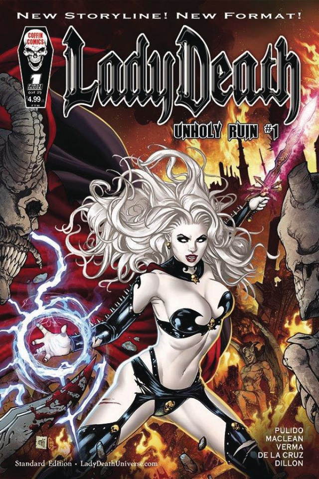 Lady Death: Unholy Ruin #1