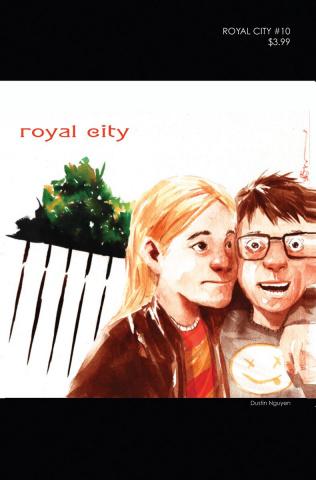 Royal City #10 ('90s Album Homage Cover)