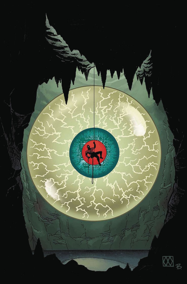Cave Carson Has a Cybernetic Eye #1 (Wagner Cover)