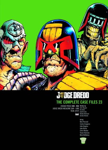 Judge Dredd: The Complete Case Files Vol. 23