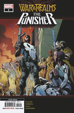 The War of the Realms: The Punisher #1 (Ferreira 2nd Printing)