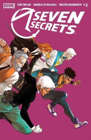 Seven Secrets #3 (3rd Printing)